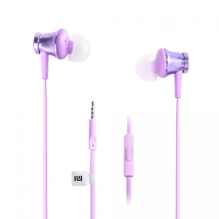 Наушники вакуумные Xiaomi Mi Piston Basic Edition Purple